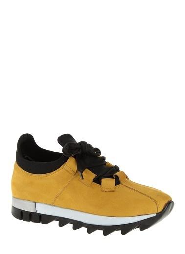 Derigo Bağcıklı Ayakkabı Hardal